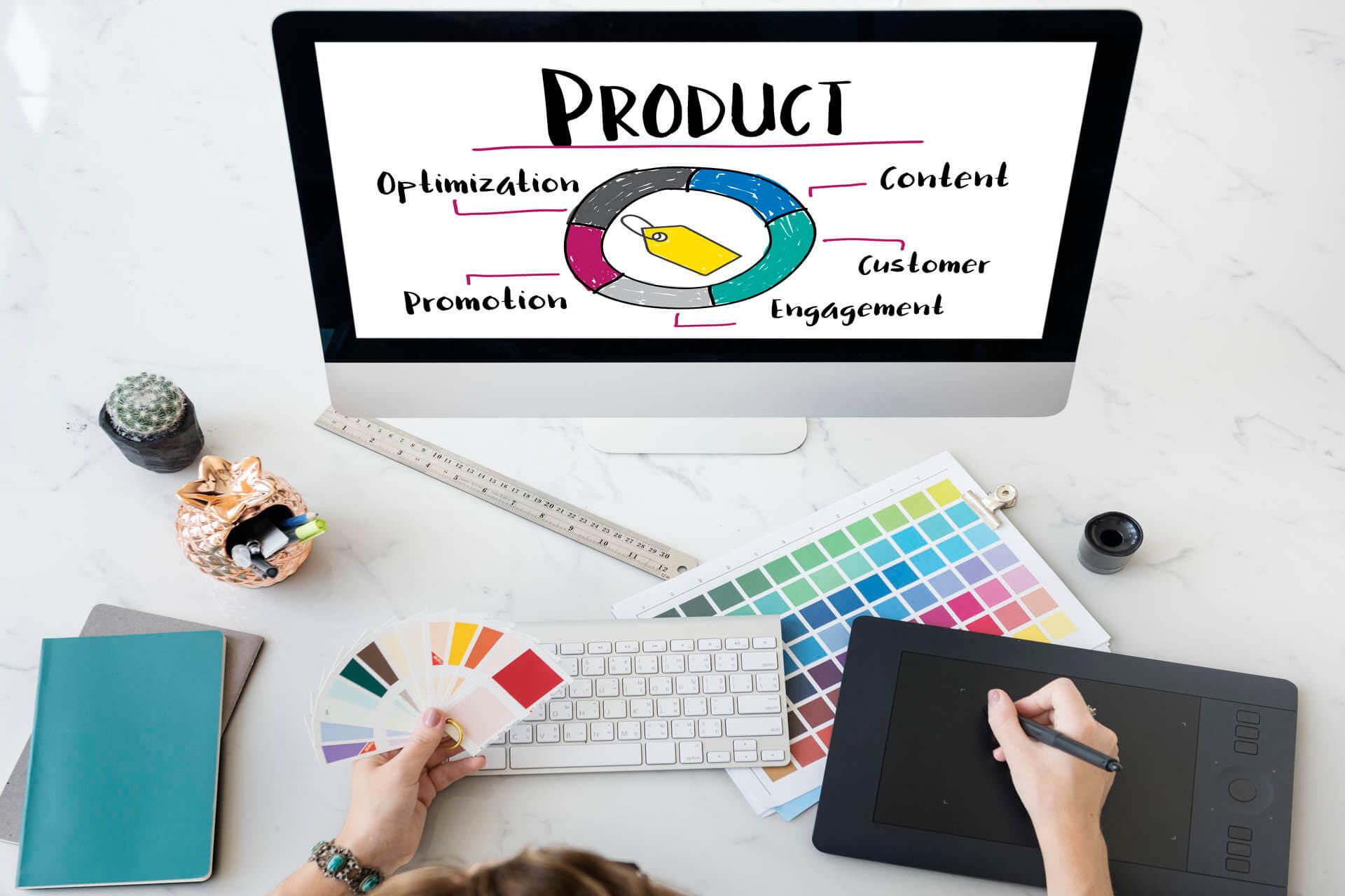 Content Marketing Arbeitsplatz